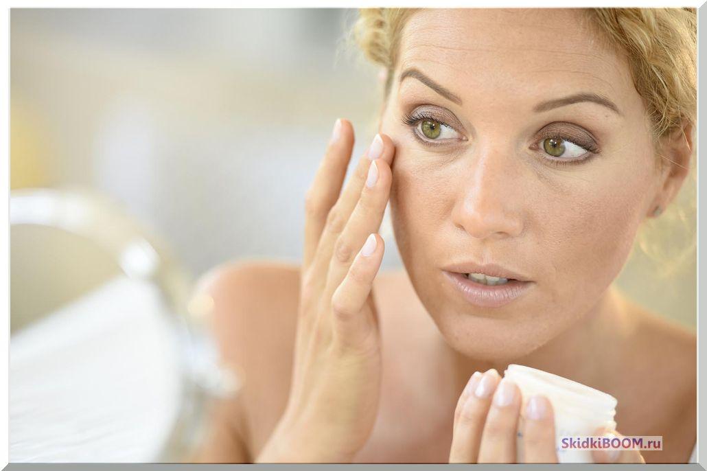 Как сохранить молодость кожи - мешки под глазами