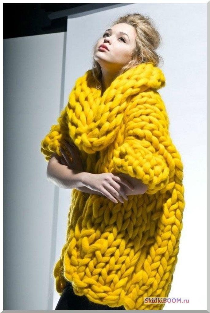 Одежда для женщин низкого роста - крупная вязка