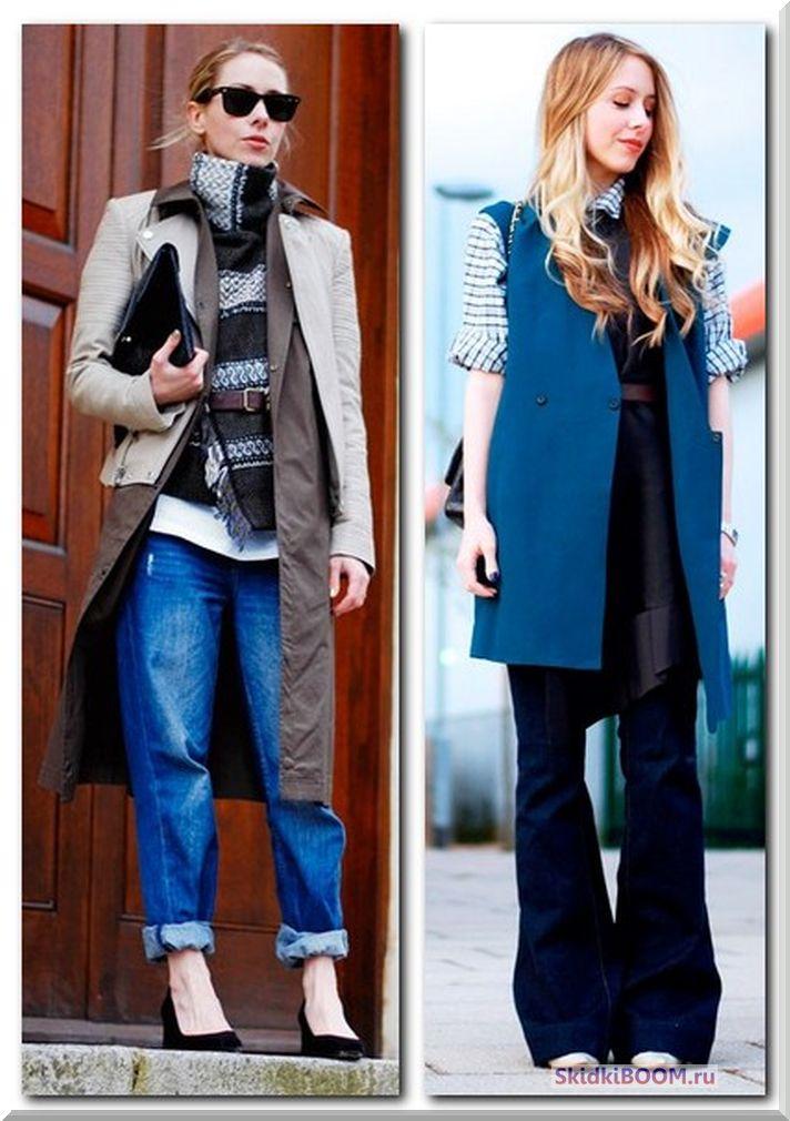 Одежда для женщин низкого роста - многослойность одежды