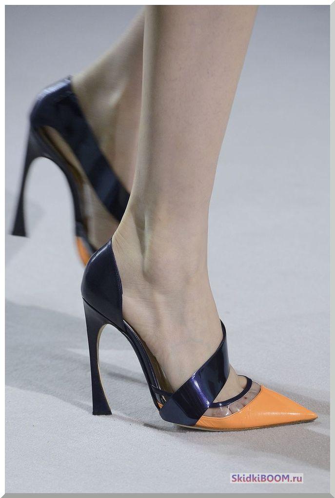 Одежда для женщин низкого роста - обувь с удлиненным носом