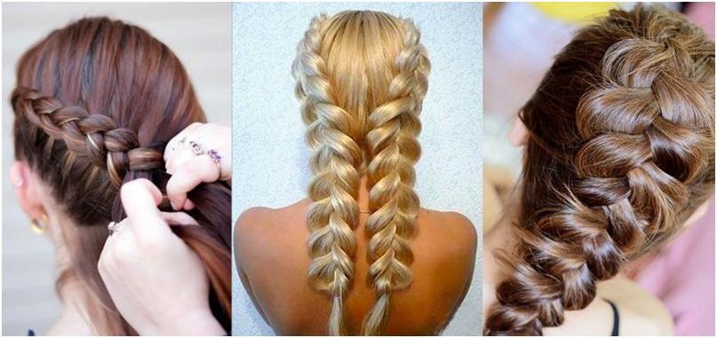 Секреты красоты французская коса