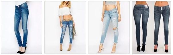 джинсы с заниженной талией