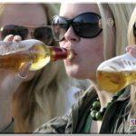 Как алкоголь влияет на организм женщины фото