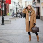 С чем носить пальто skidkiboom