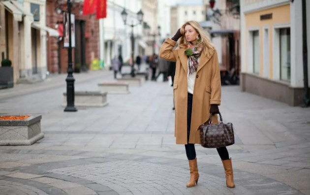 С чем носить женское пальто?