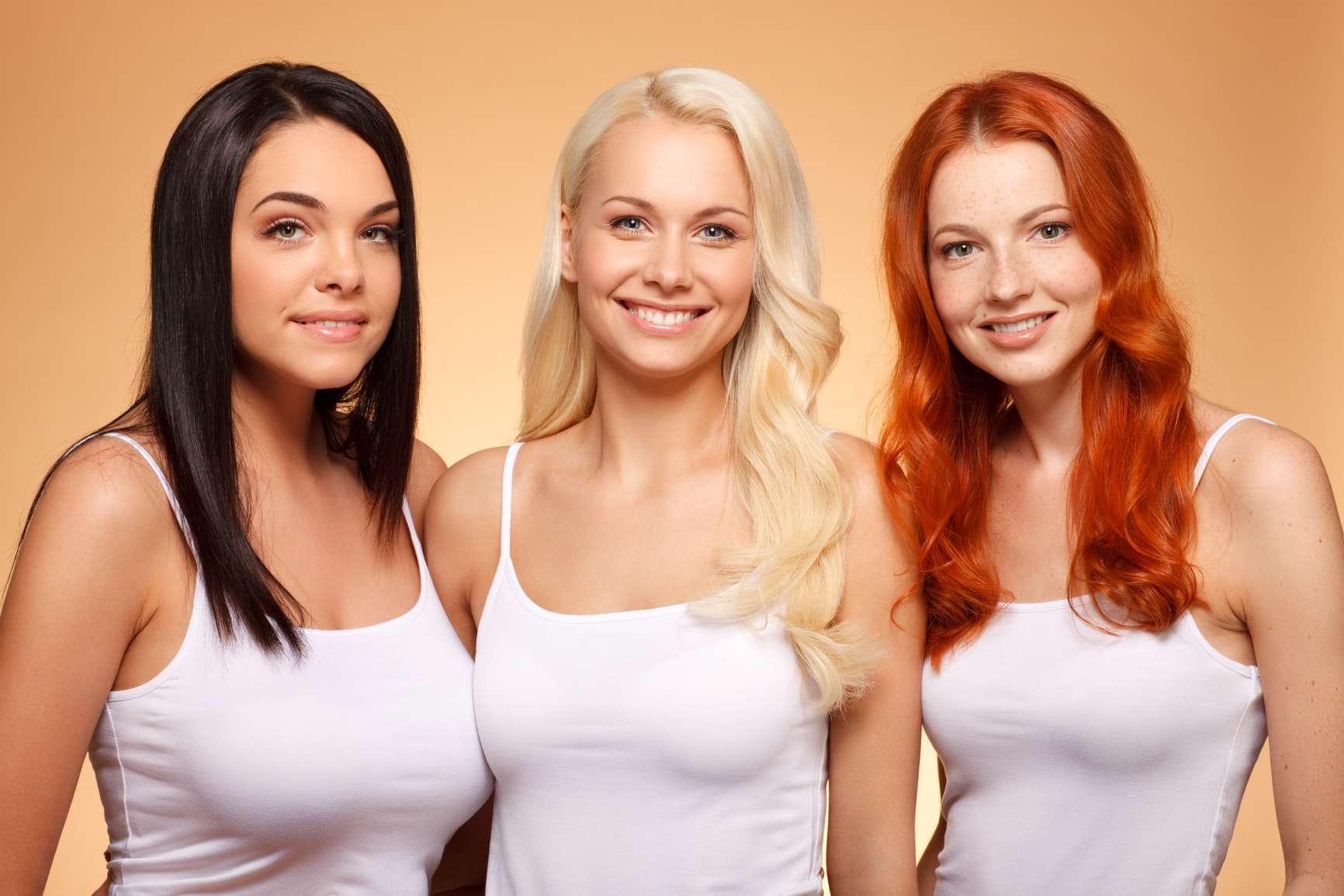 Какой цвет волос тебе подходит по фото
