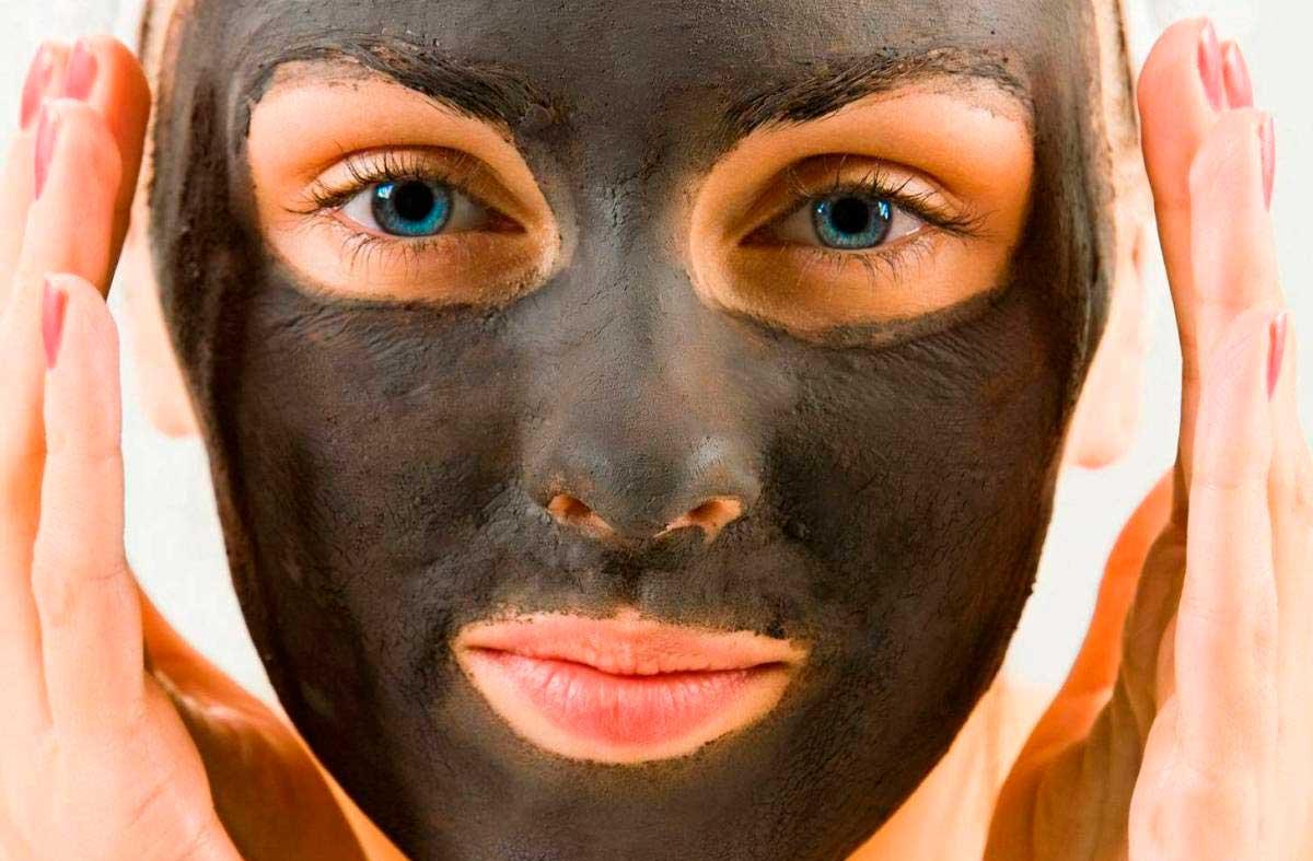 Маски из чёрной глины для лица: 6 21
