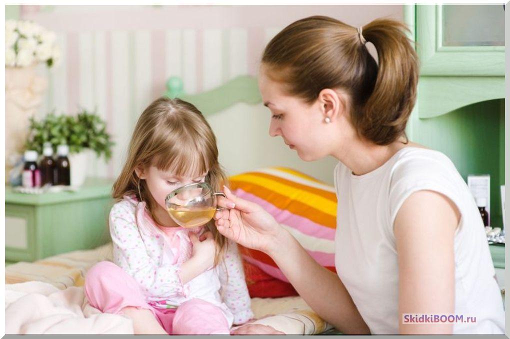 Как за день вылечить простуду у ребенка - больше пить