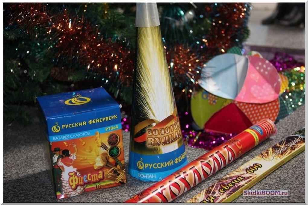 Как выбирать фейерверк к новогодним праздникам