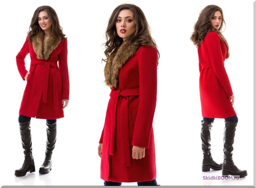 Как выбрать женское зимнее пальто - красное пальто