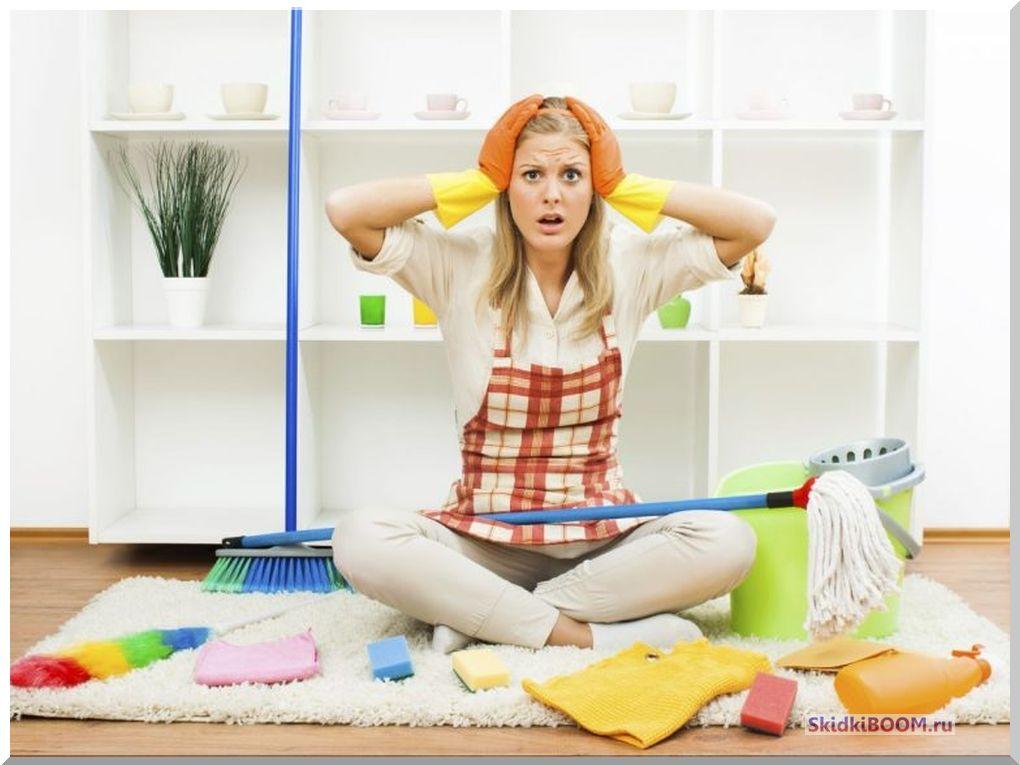 Как не превратиться из женщины в домохозяйку - уборка дома