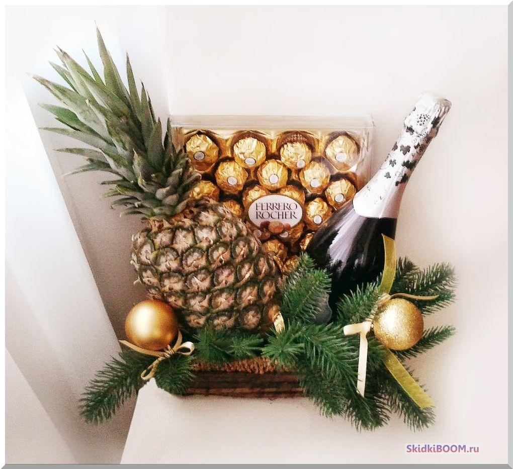 Что подарить бабушке на новый год - шампанское