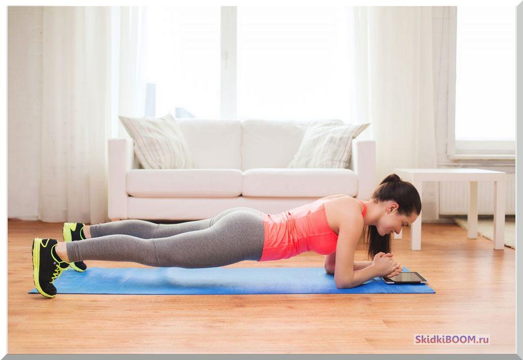 упражнения для похудения планка