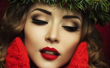 Красивый макияж на Новый год