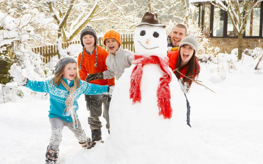 Где с семьей встретить Новый год 2018?
