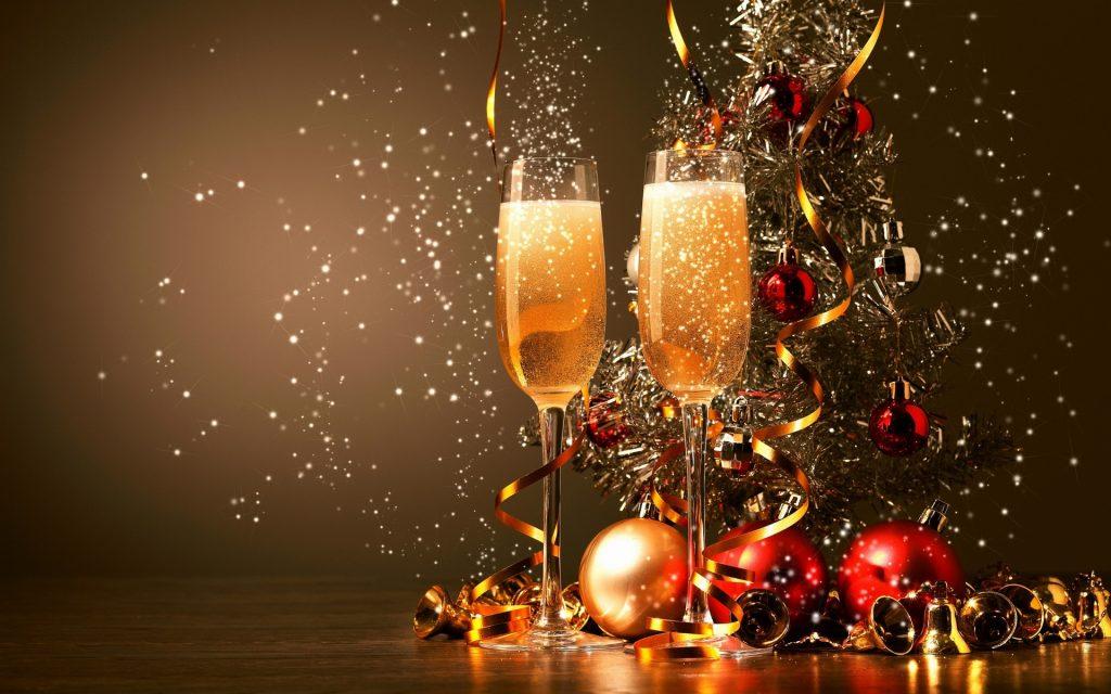 Лучшие поздравления, тосты к Новогоднему столу