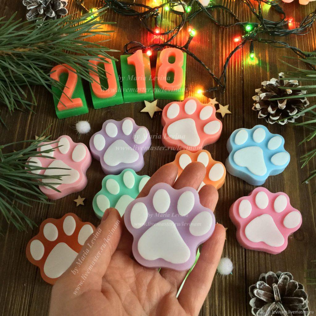 """Подарок """"украшения с собачкой"""" - главный символ 2018 года"""