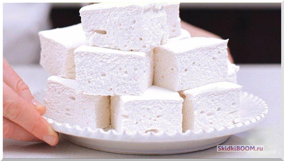 Самые низкокалорийные сладости - зефир
