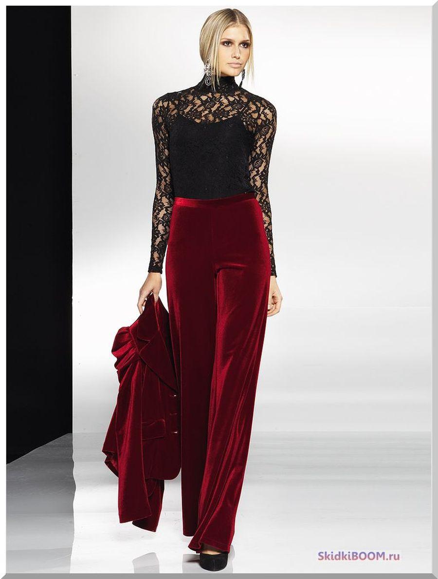 Какие женские брюки в моде брюки из бархата