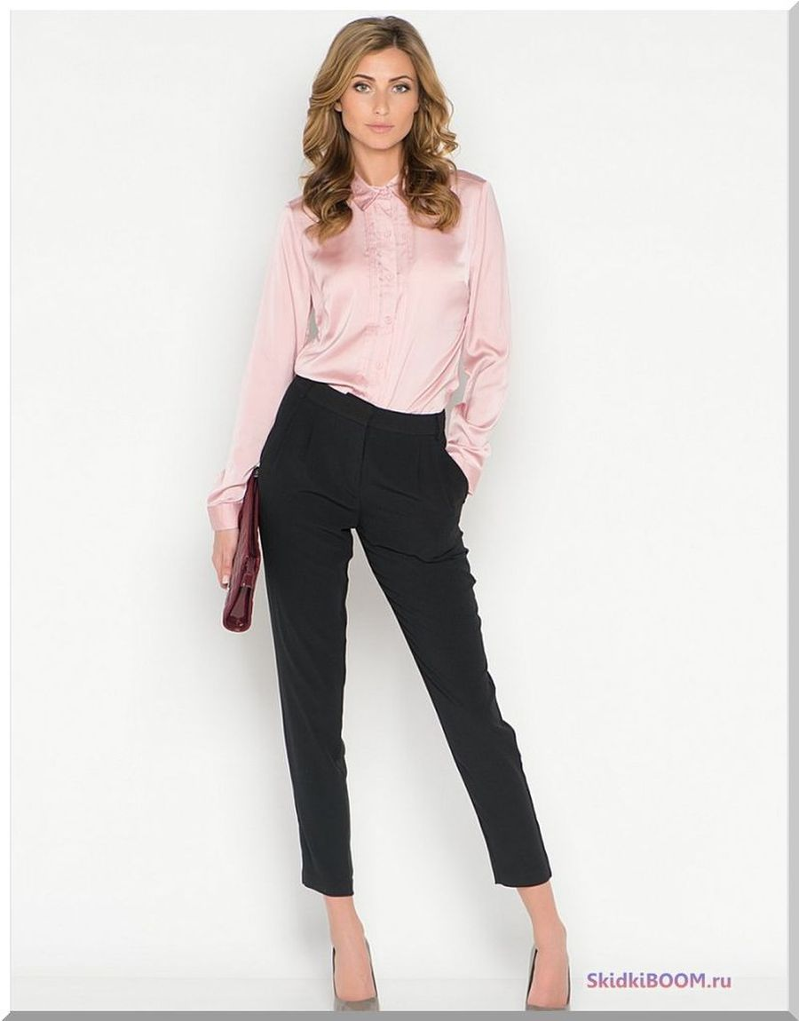 Какие женские брюки в моде - классические укороченные