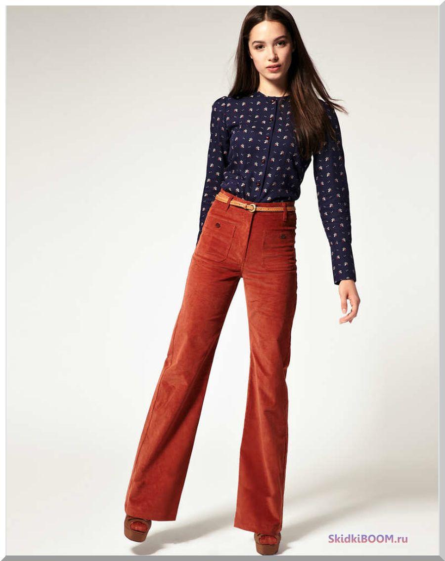 Какие женские брюки в моде - клеш