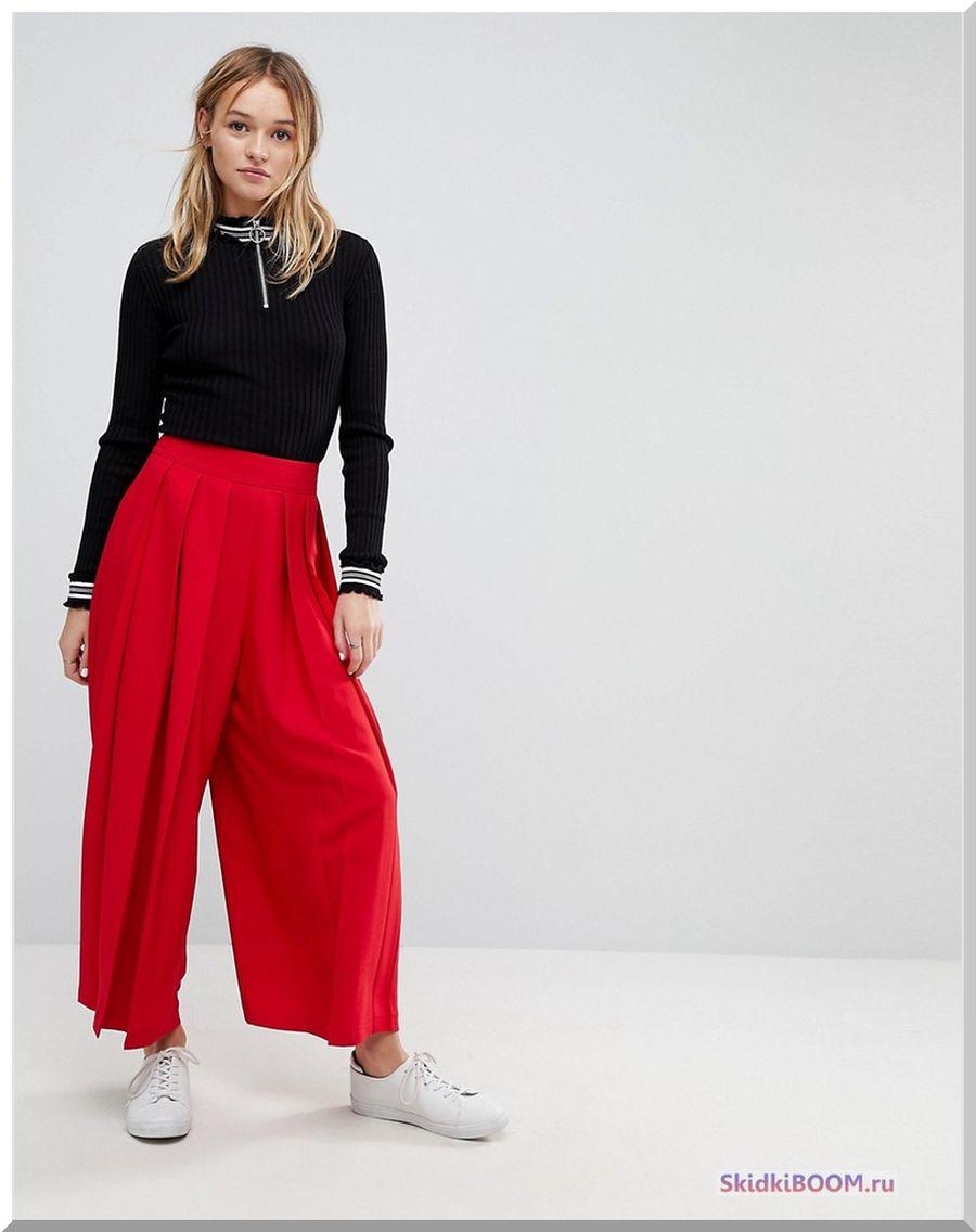 Какие женские брюки в моде - кюлоты
