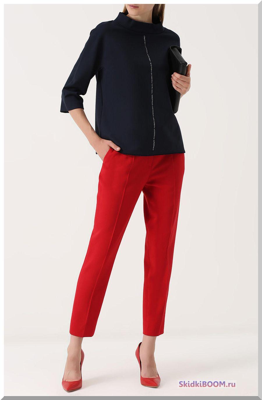Какие женские брюки в моде - прямого кроя со стрелками