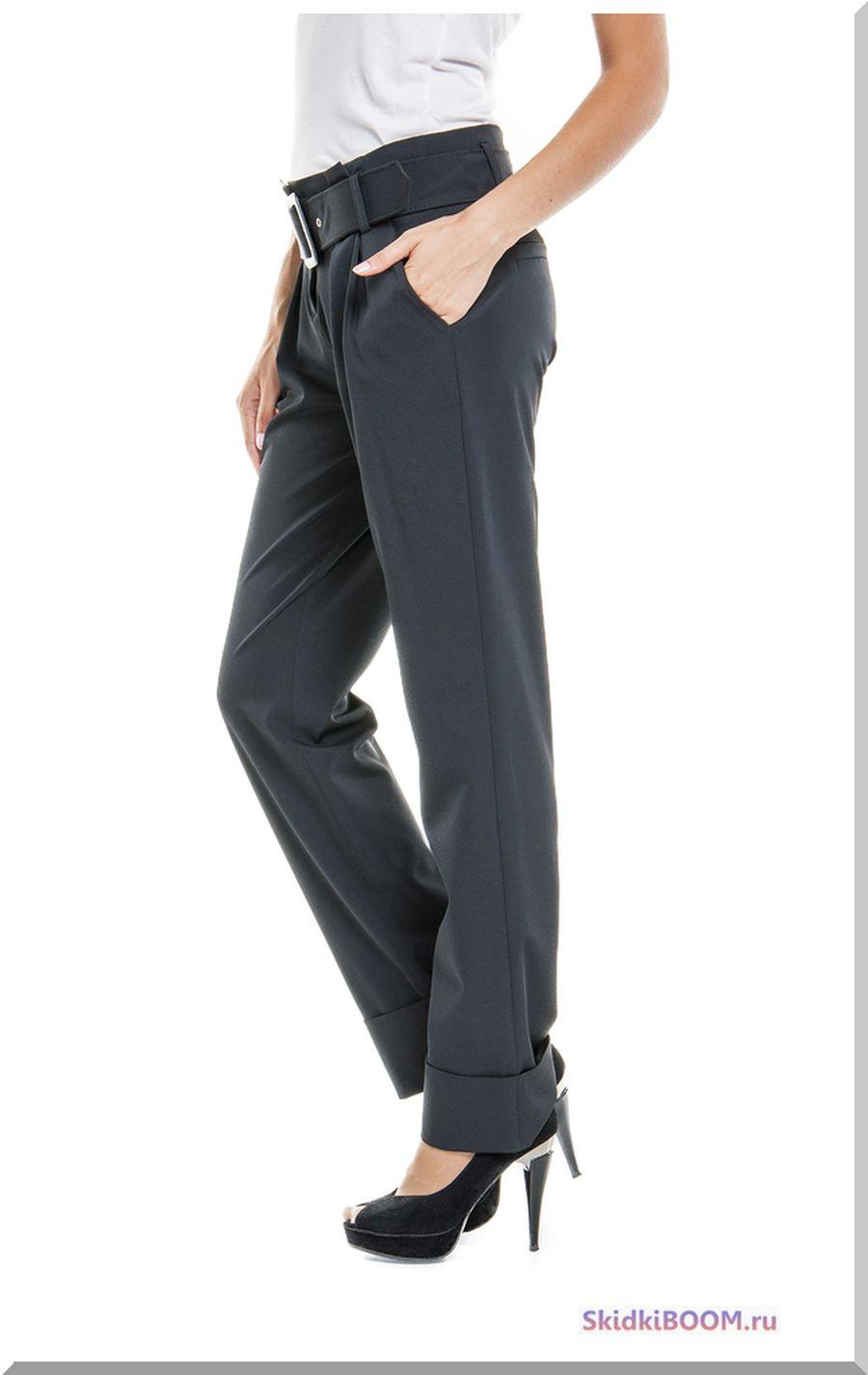 Какие женские брюки в моде - с манжетами