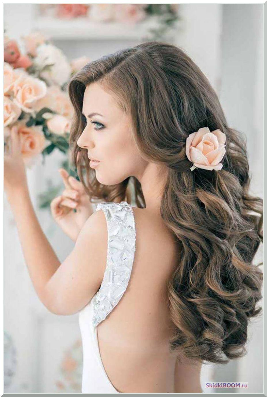 Укладка волос на длинные волосы - локоны