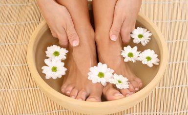 Как избавиться от запаха ног в домашних условиях?