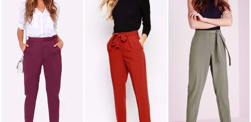 Какие женские брюки в моде 2018?