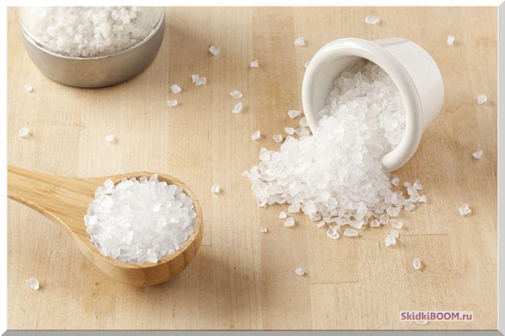 Ваночки с солью для рук фото