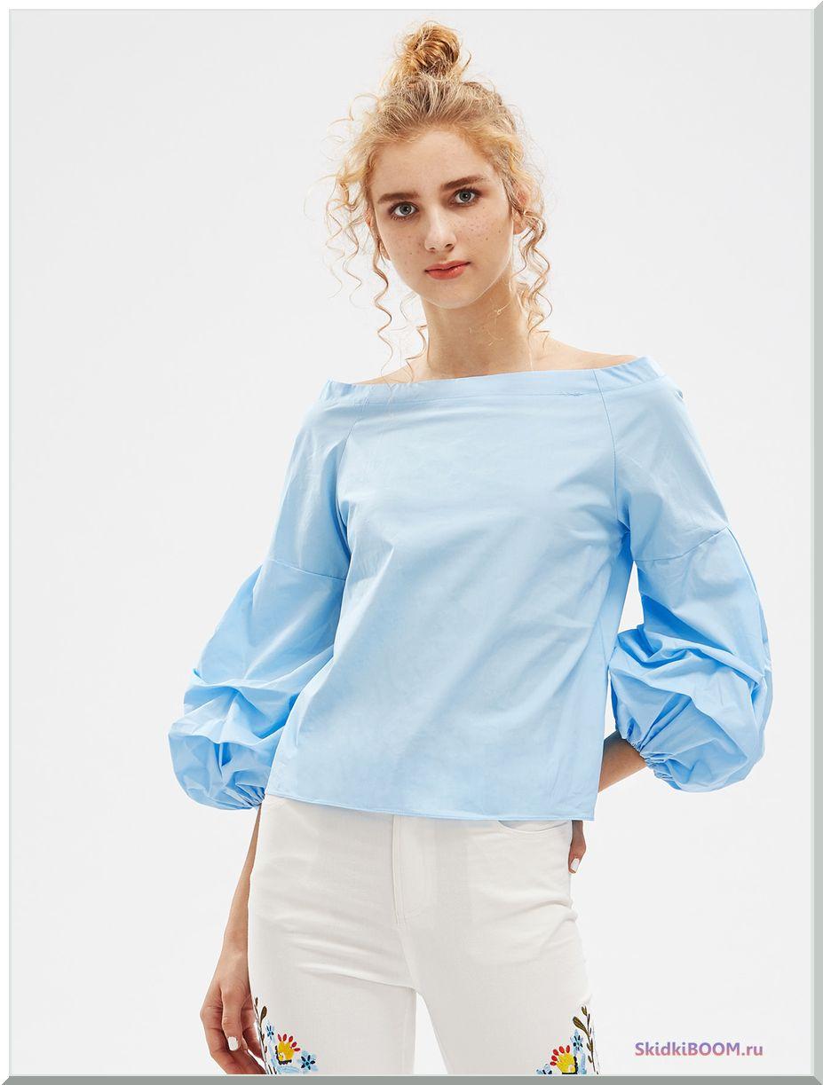 Модные тенденции в одежде блузка рукова-фоналик