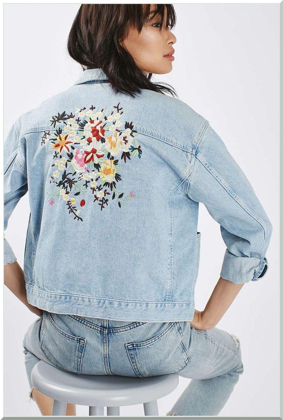 Модные тенденции в одежде куртка с вышевкой2
