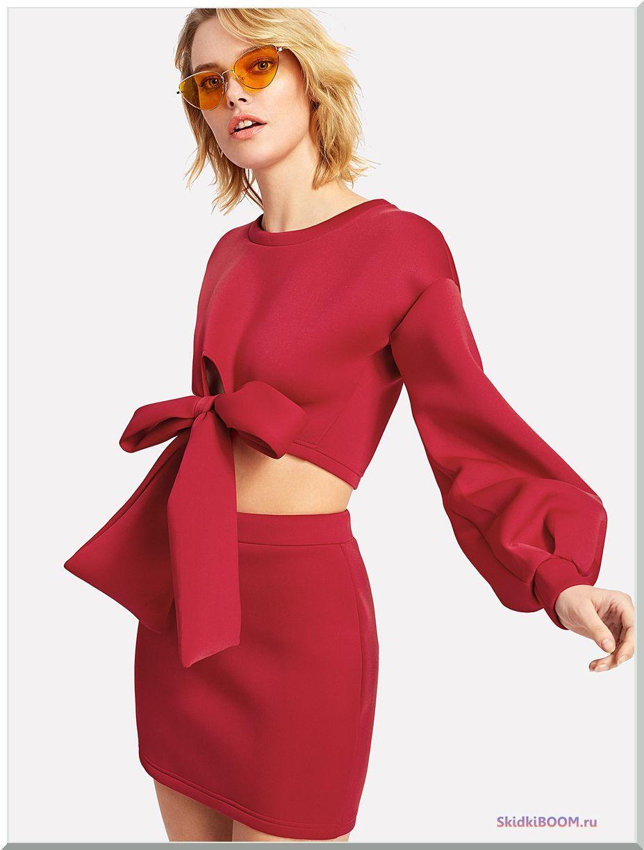 Модные тенденции платье рукава-фонарик