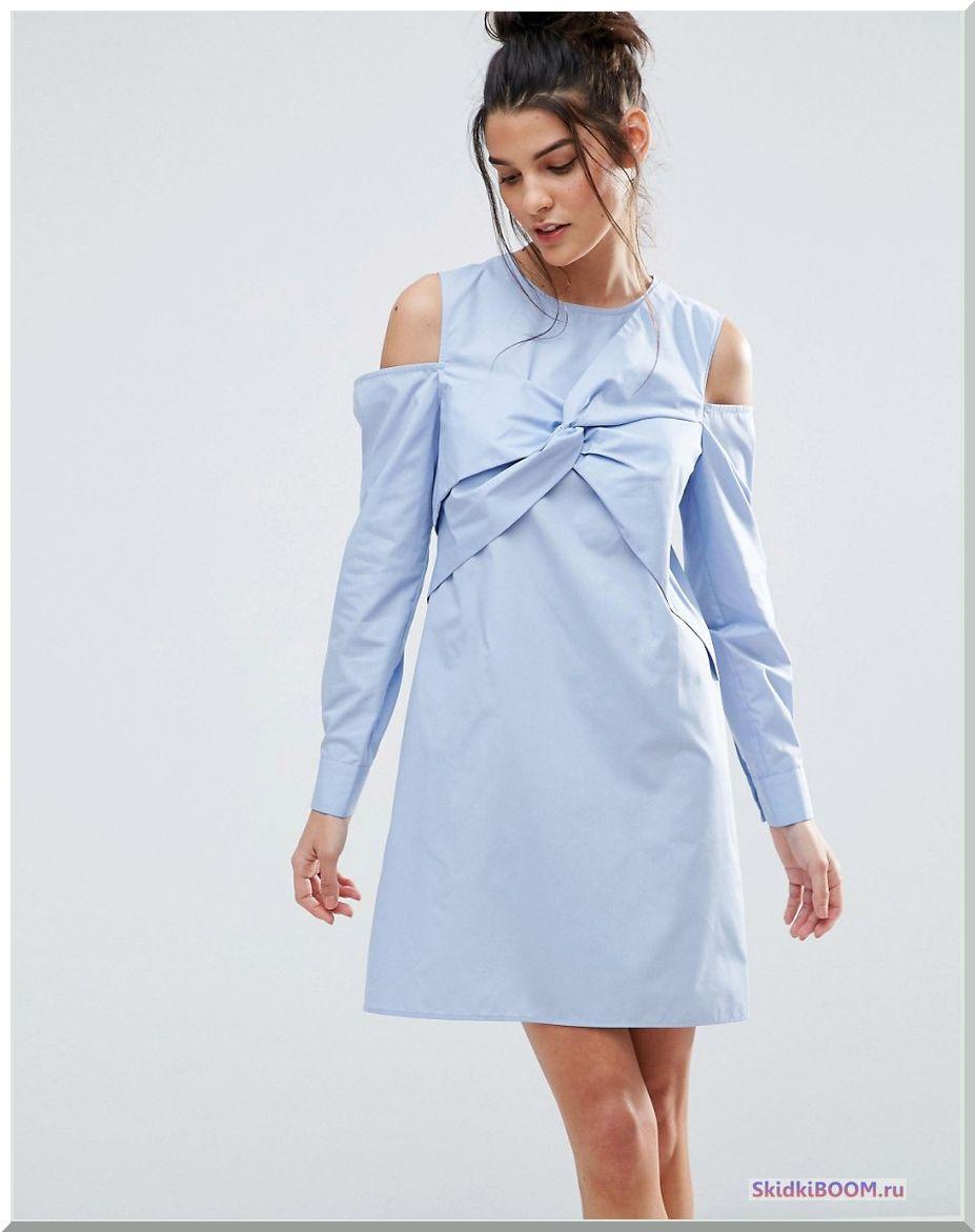 Платье-рубашка - Модные тенденции в одежде
