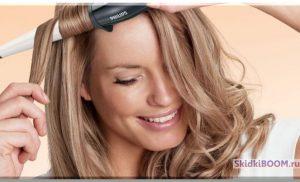 Укладка волос на средние волосы