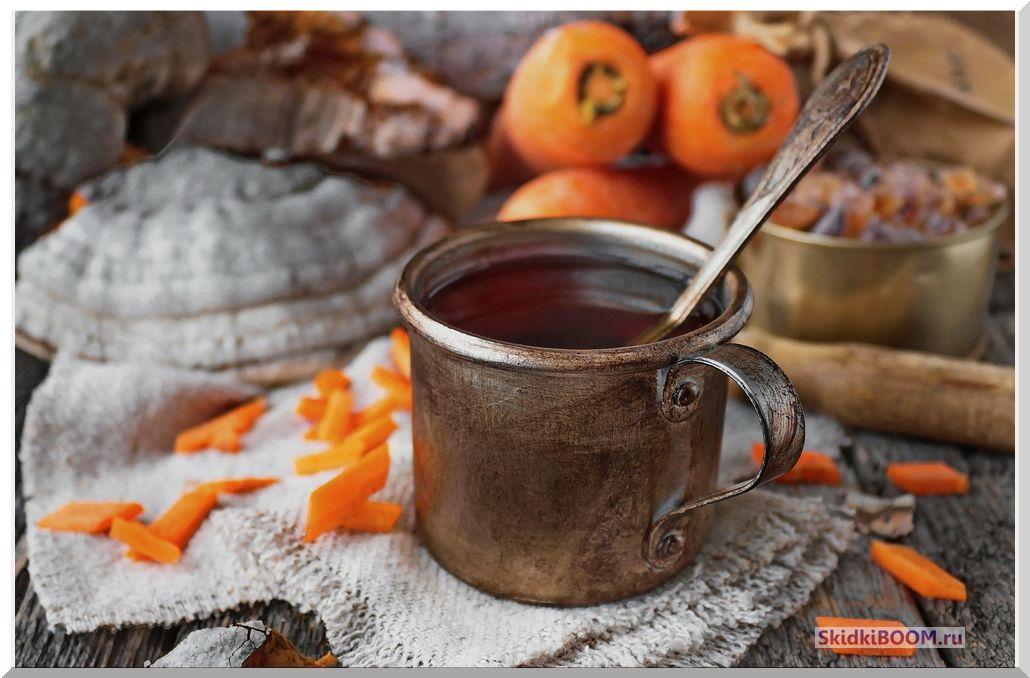 морковный чай картинка
