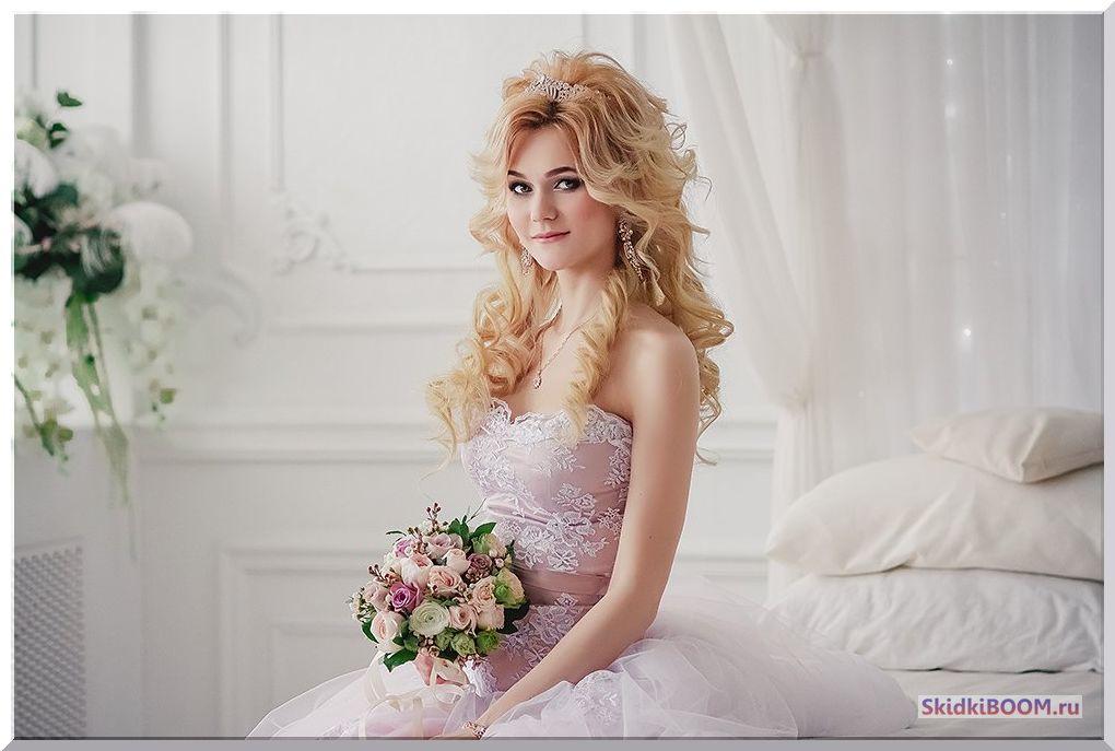 Свадебный макияж для невесты область декольте