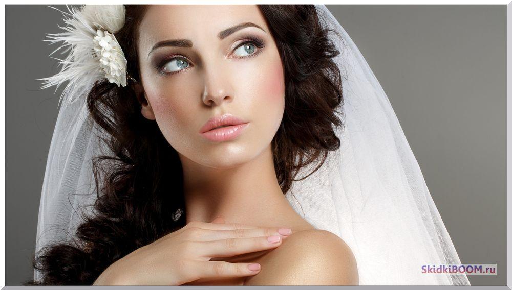 Свадебный макияж для невесты тональный крем