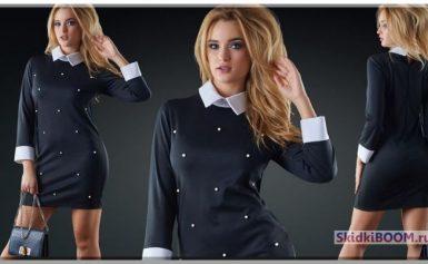 Модное платье с воротничком — элегантность вашего образа!